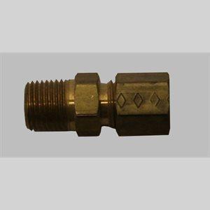 Schneider 3 / 16 X 1 / 8MPT Comp Adapter