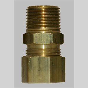 Schneider 1 / 2 X 3 / 8MPT Comp Adapter