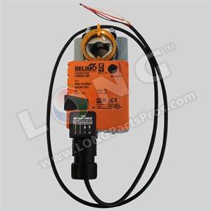 Belimo Damper Actuator: Damp. Rotary, 45in-lb, SR(2-10V), 24V