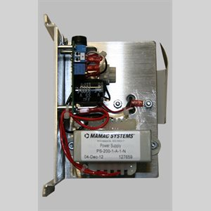 Mamac Power Supply, 1.5 Amps, 24 VDC Output Voltage, Narrow Width