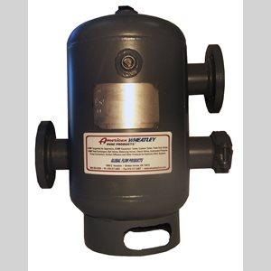 "Air separator w / strainer 2.5"""